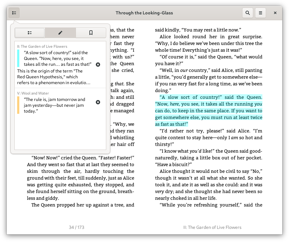 Annotations