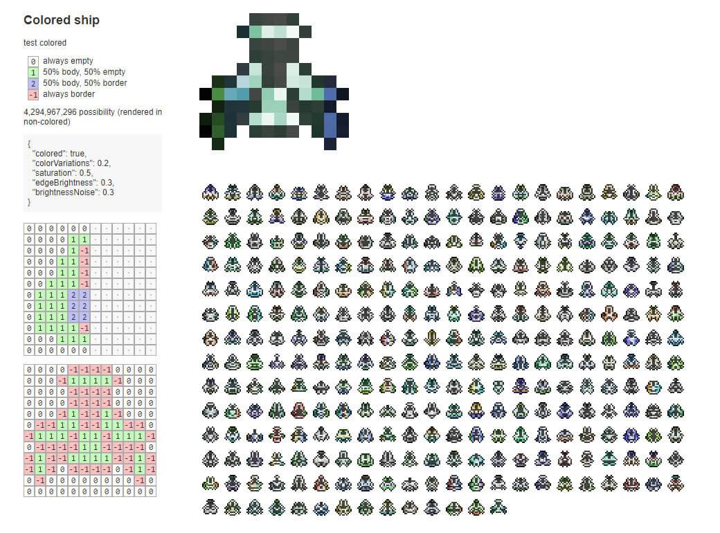 GitHub - jojoee/pixel-mask-generator: Procedural pixel