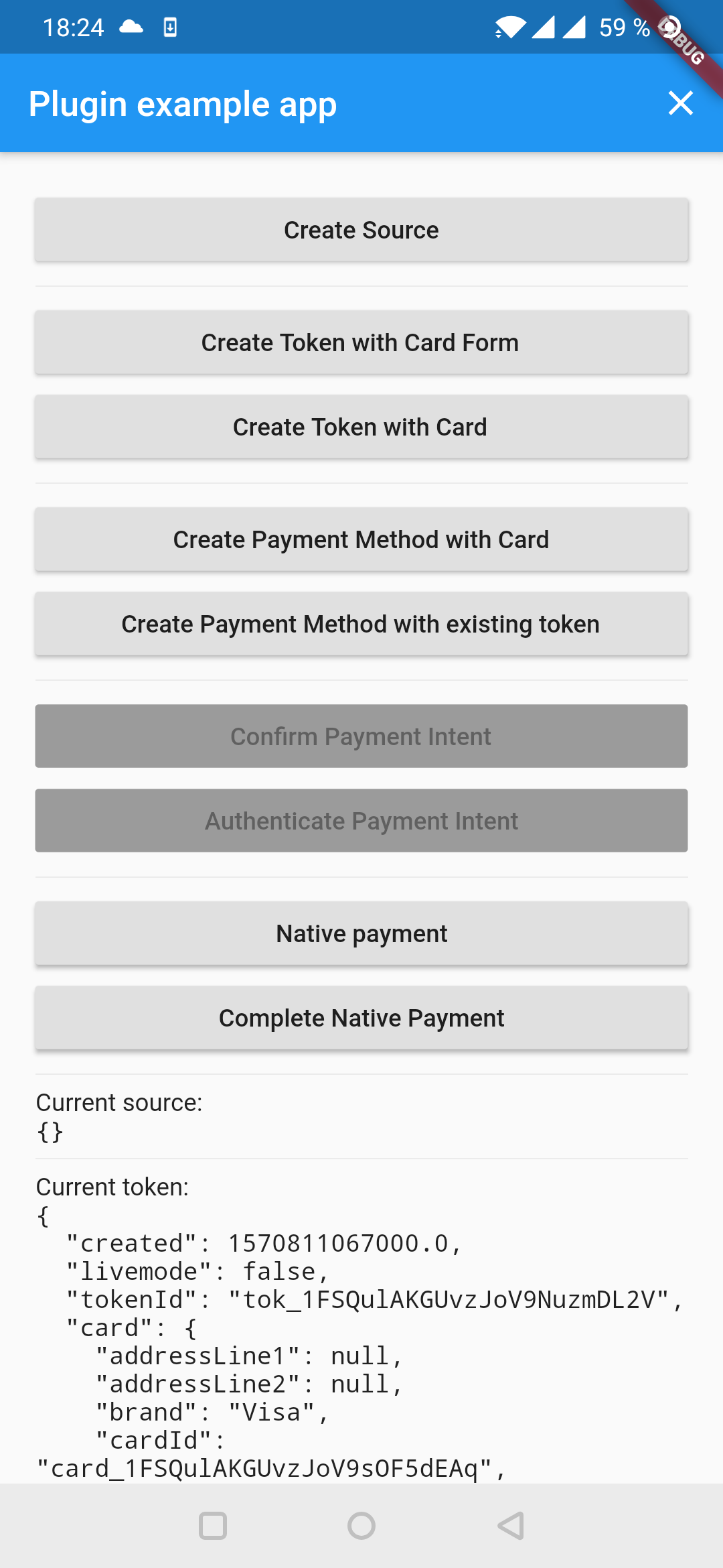 Flutter Stripe Payment Integration
