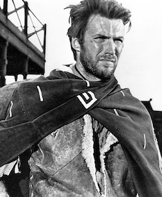 Picture of Clint Eastwood in 'A Fistful of Dollars' (1964)