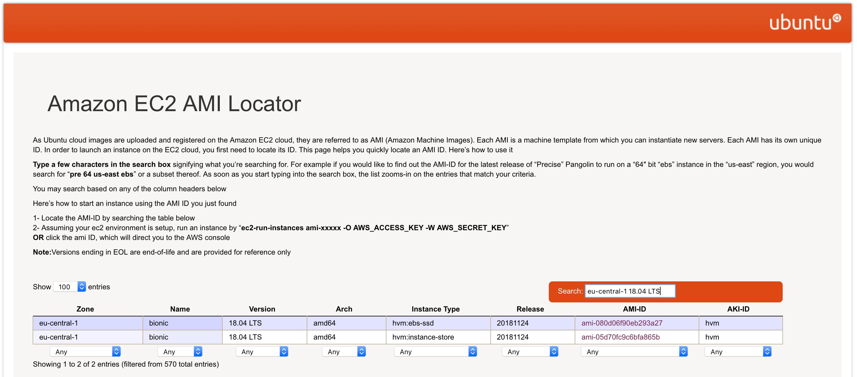 ubuntu-Amazon-EC2-AMI-Locator