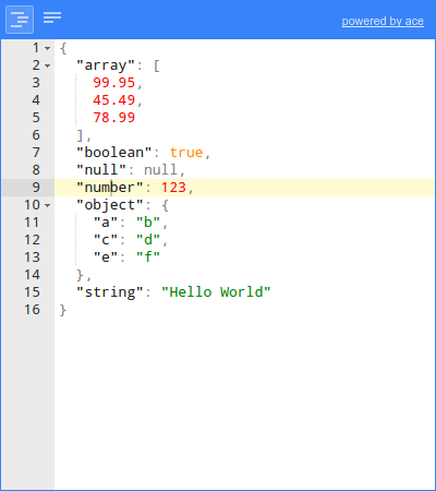 jsoneditor - npm
