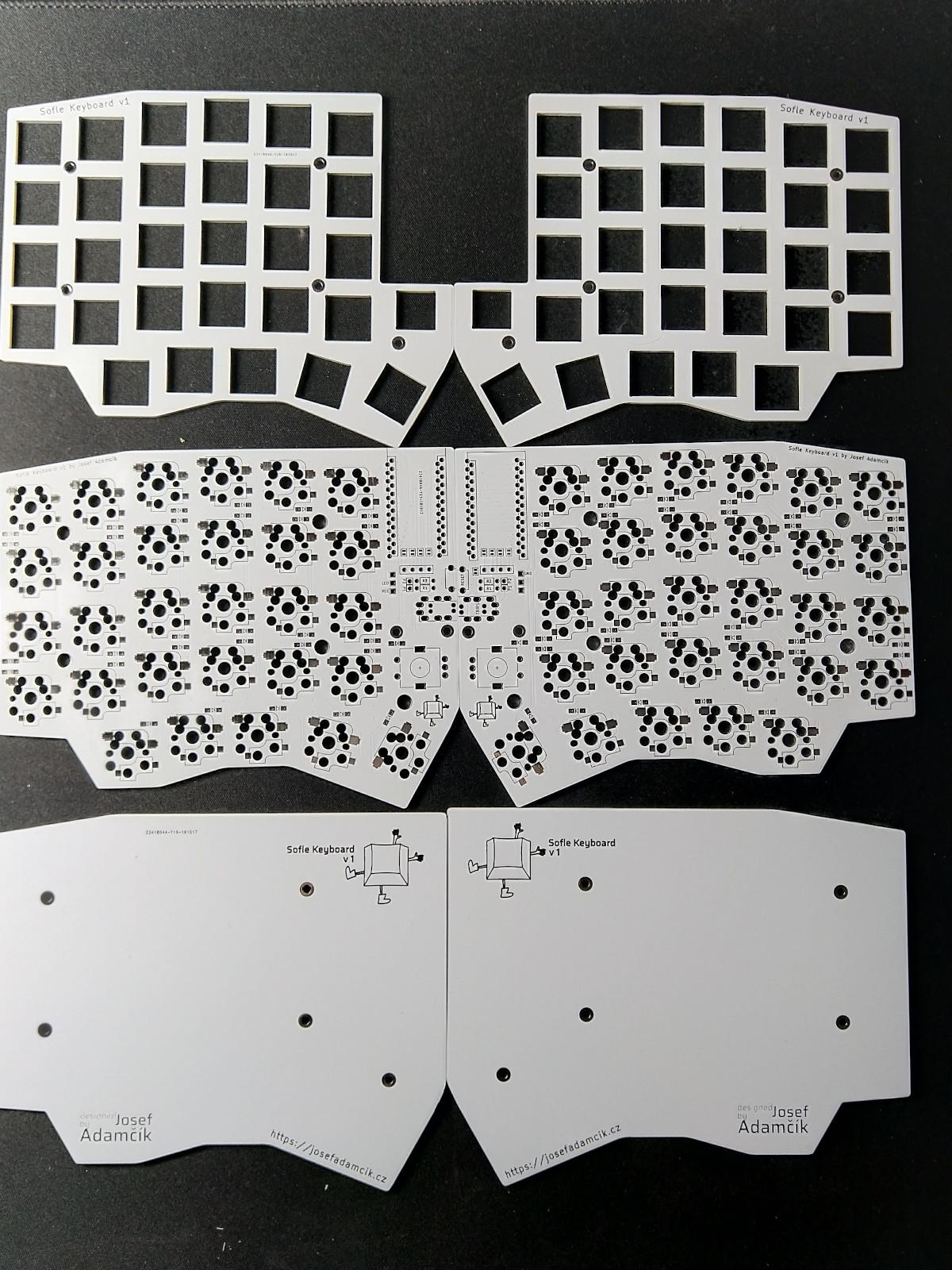 SofleKeyboard PCB