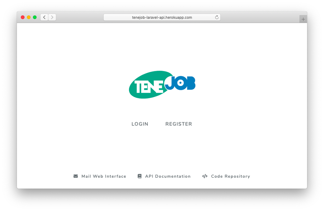 GitHub - josepcrespo/tenejob-laravel-api: A Laravel project