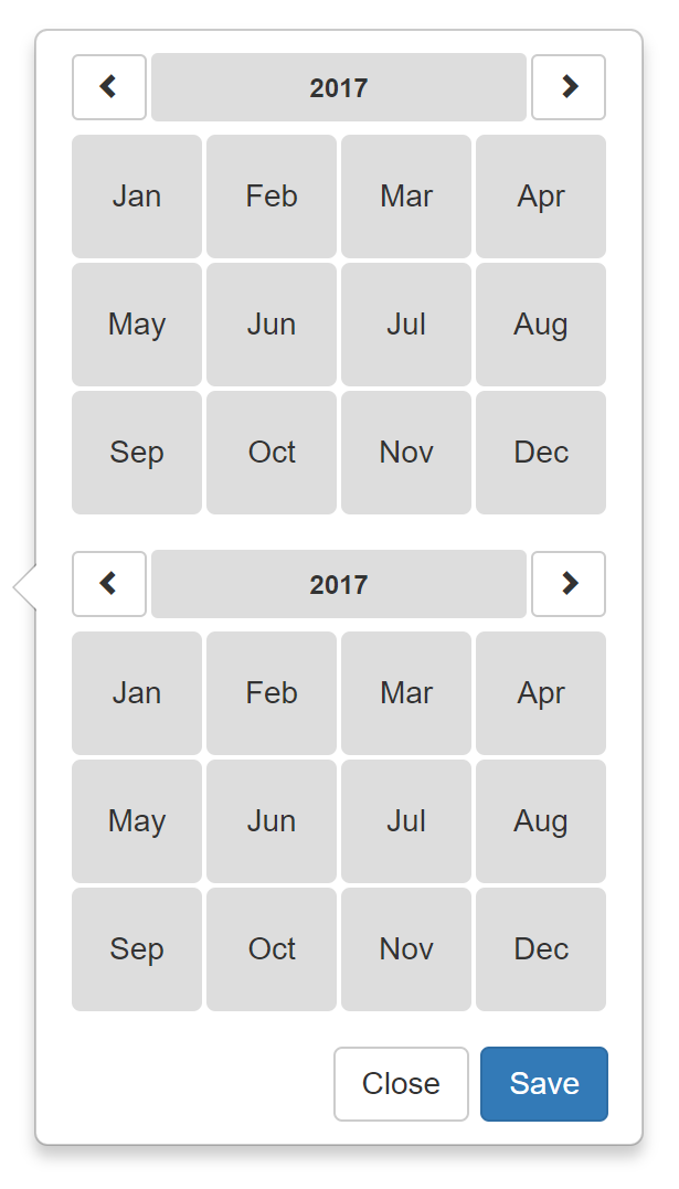 react-bootstrap-month-selector - npm