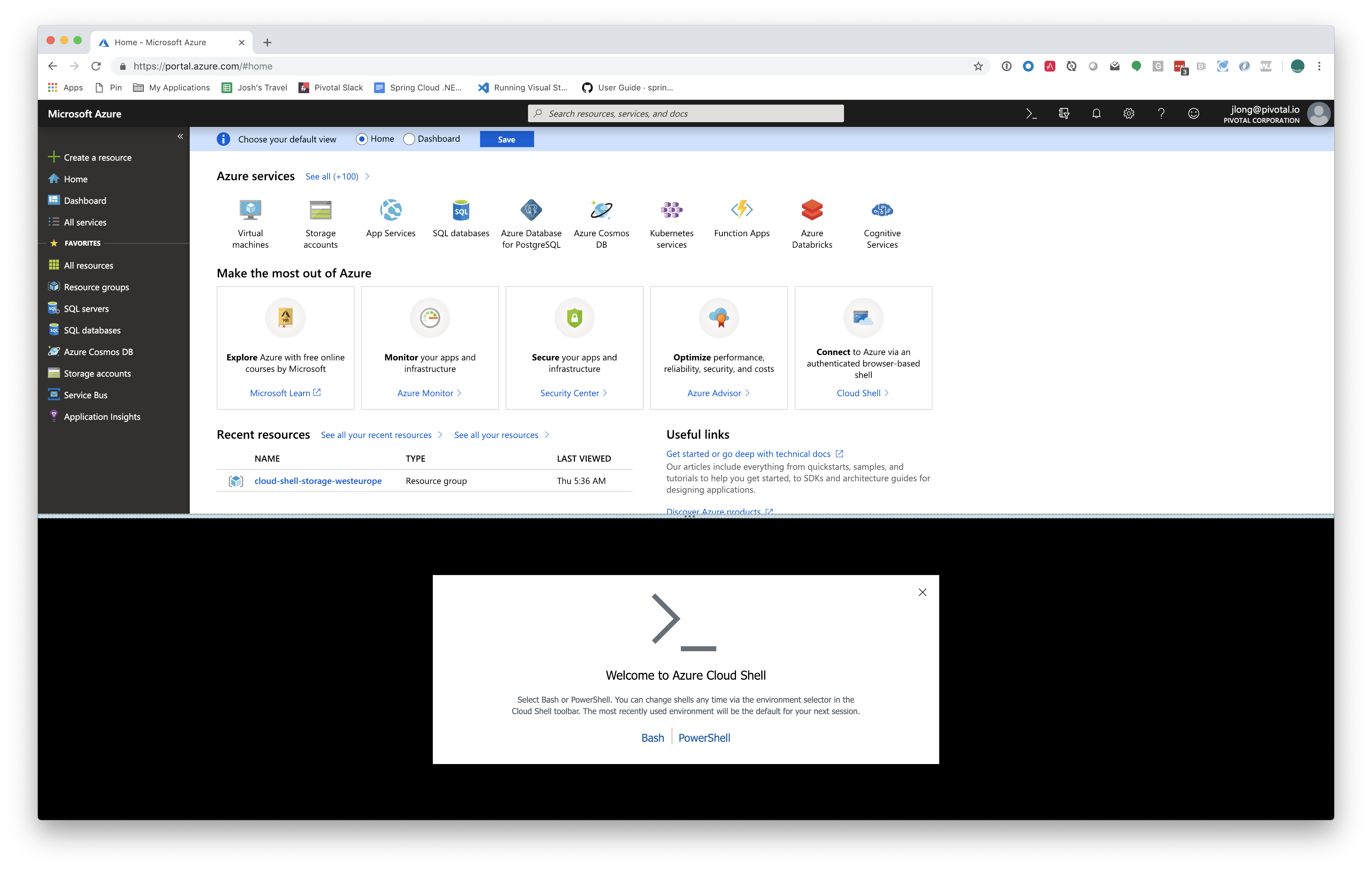 Bootiful Azure: Taking Your First Steps with Microsoft Azure