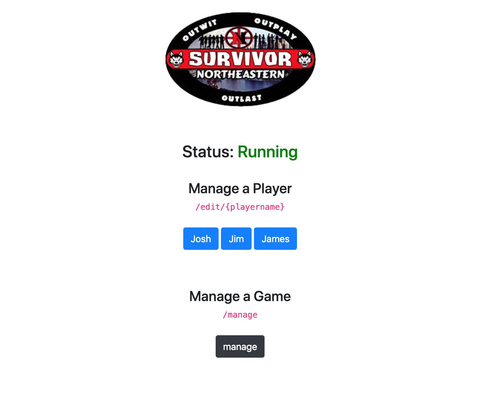 Survivor: Northeastern Scheduler in Go