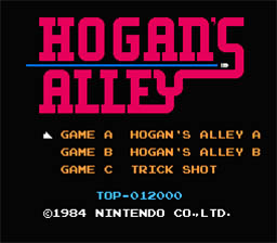 Original Hogan's Alley Menu
