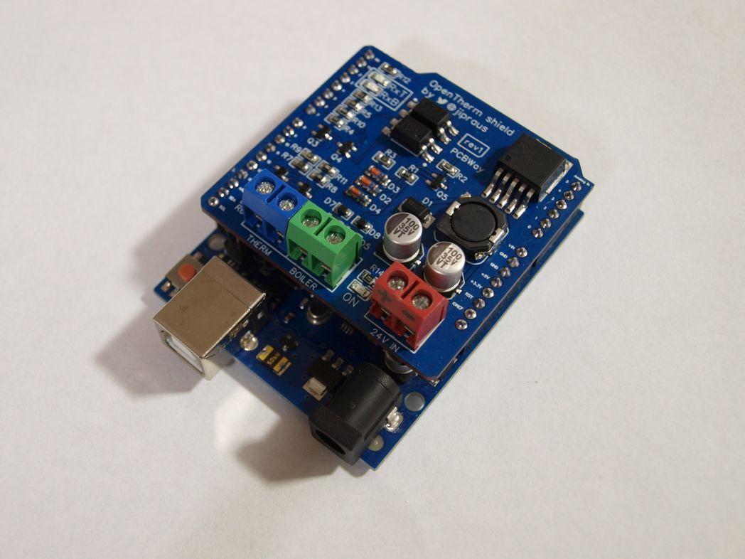 GitHub - jpraus/arduino-opentherm: Arduino library and