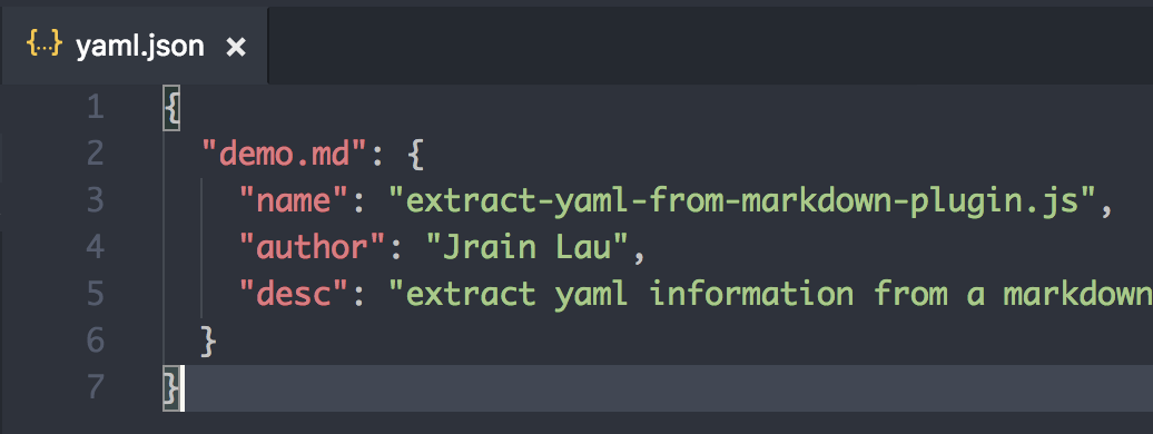 extract-yaml-from-markdown-plugin - npm