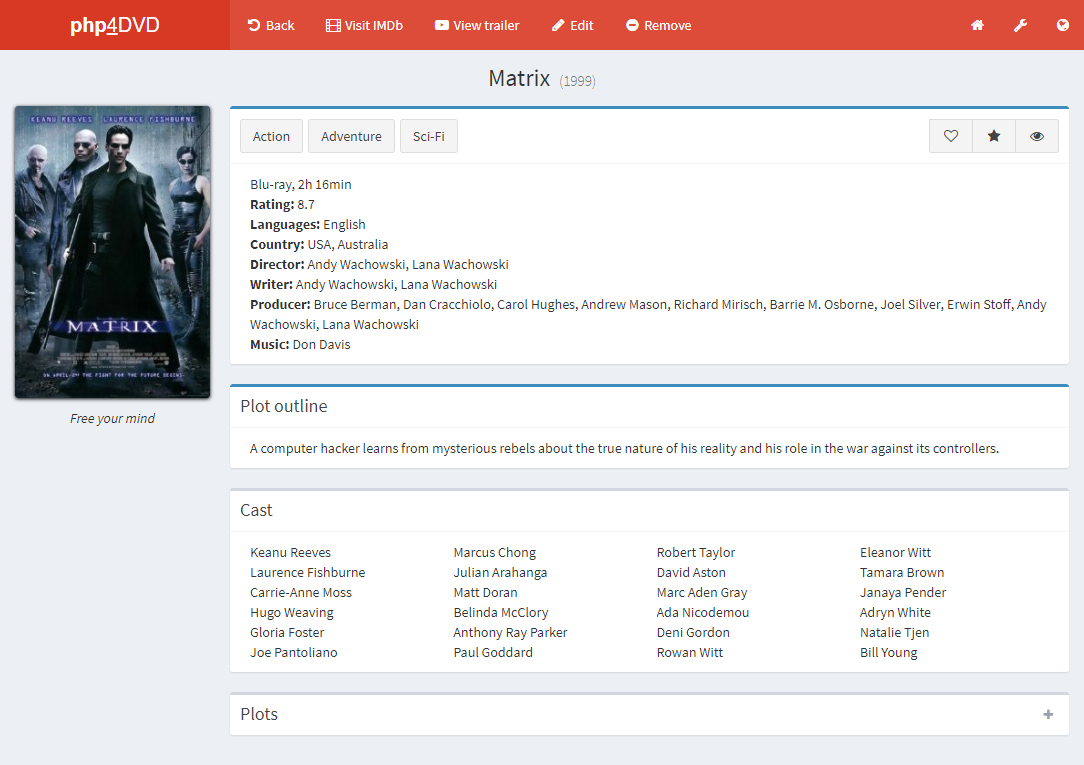 Code source Film en ligne /streaming online