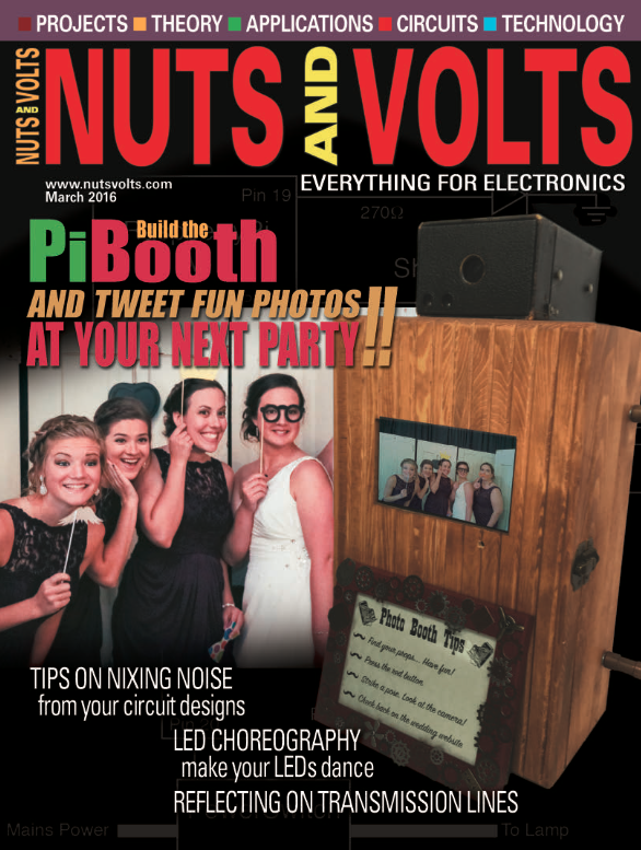 Nuts and Volts Cover