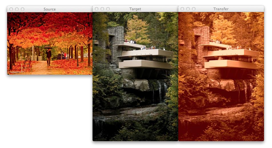 Autumn and Fallingwater screenshot