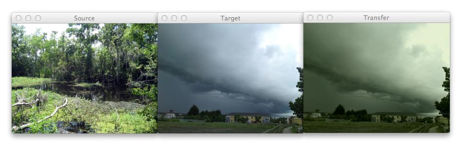 Woods and Storm screenshot