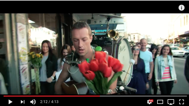Sky Full of Stars- Coldplay