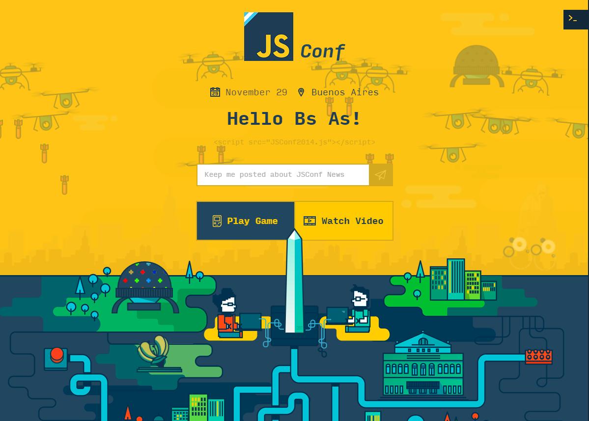 JSConfAr Site