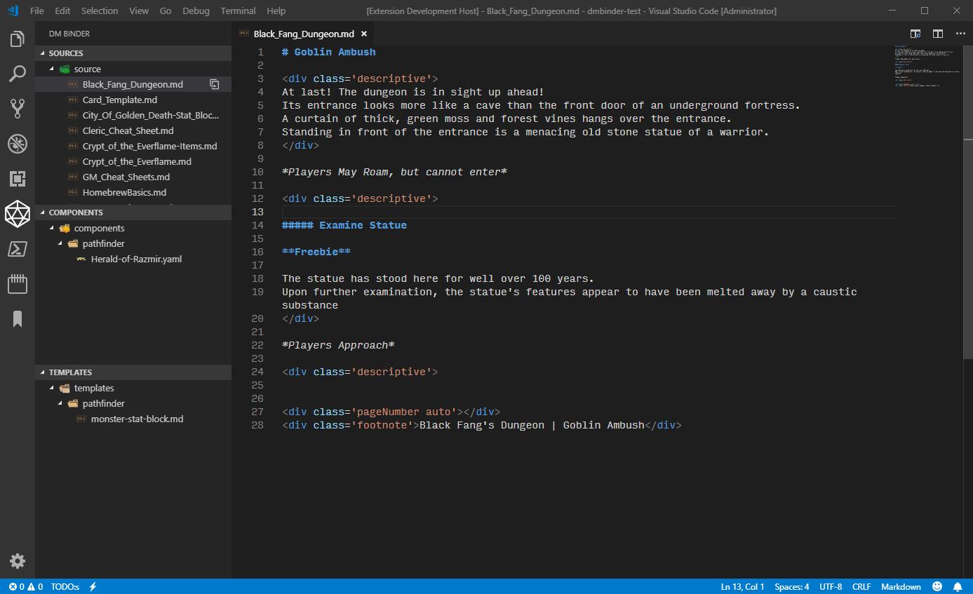 DMBinder Explorer Screenshot