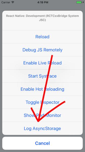 react-native-async-storage-dev-menu-item ios
