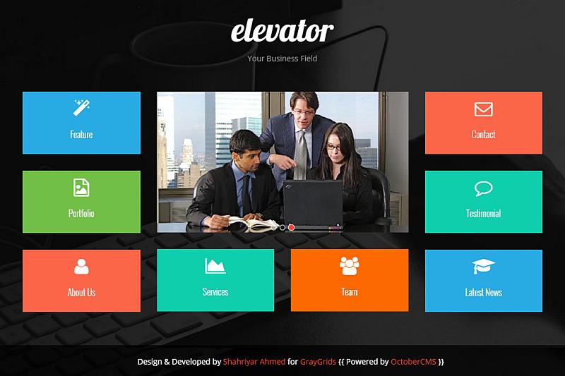 GitHub - jtherczeg/elevator-theme: Free, responsive, Bootstrap 3 ...