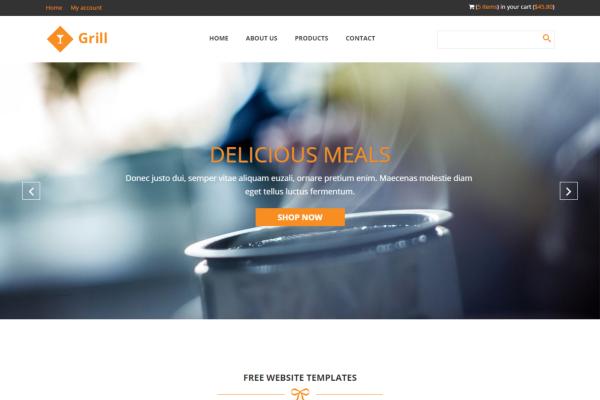 Github Jtherczeggrill Theme Free Responsive Restaurant Theme