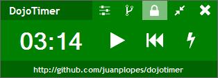 Green DojoTimer