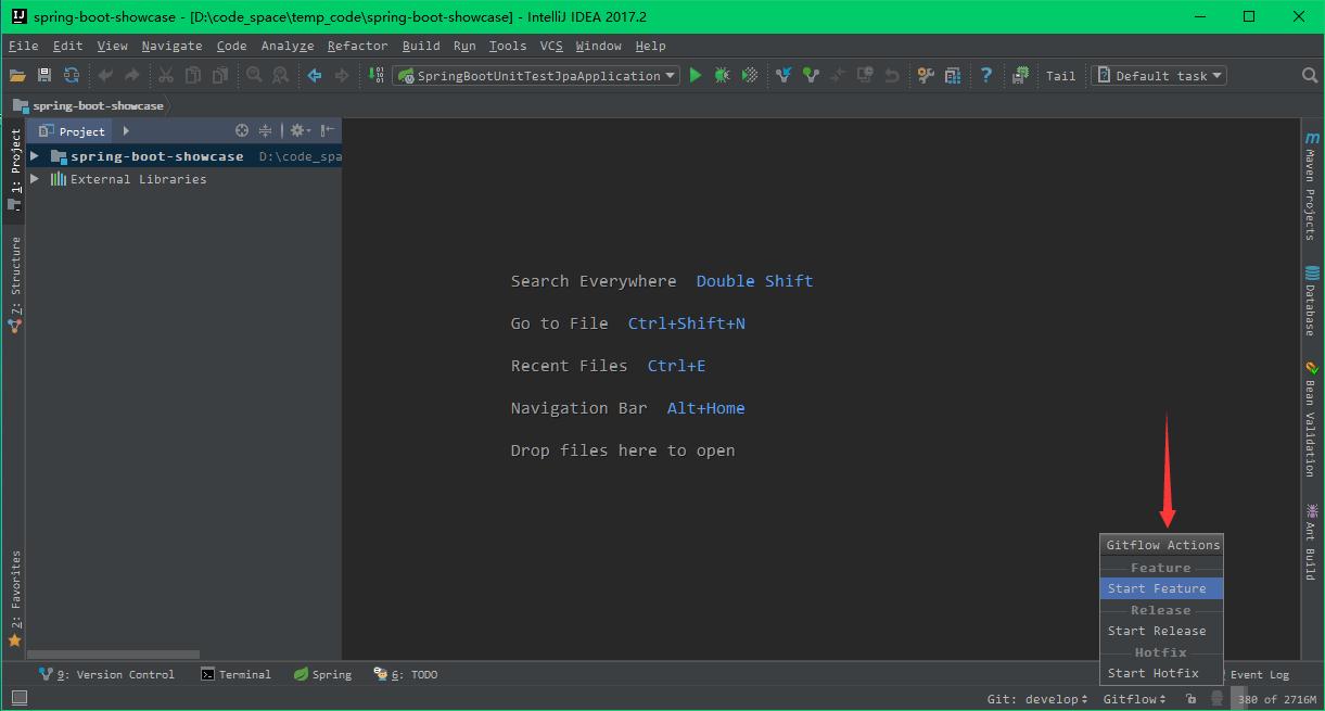 Git Flow Integration 插件的使用