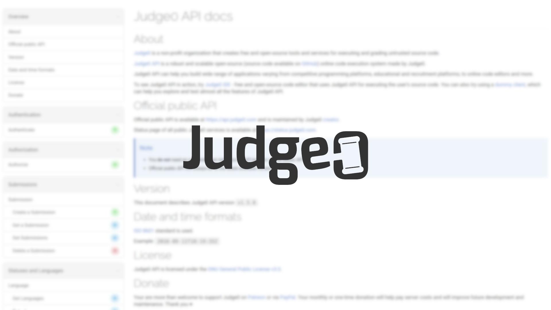 Judge0 Wallpaper