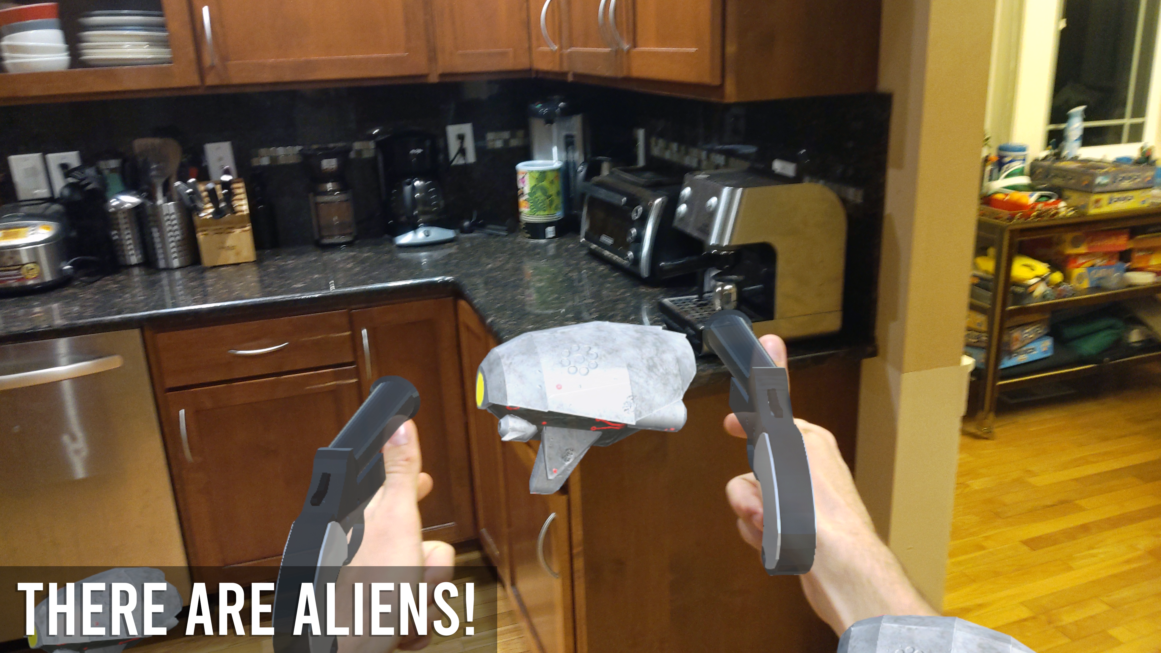 There are aliens!