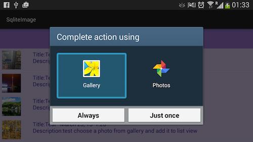 screen captures