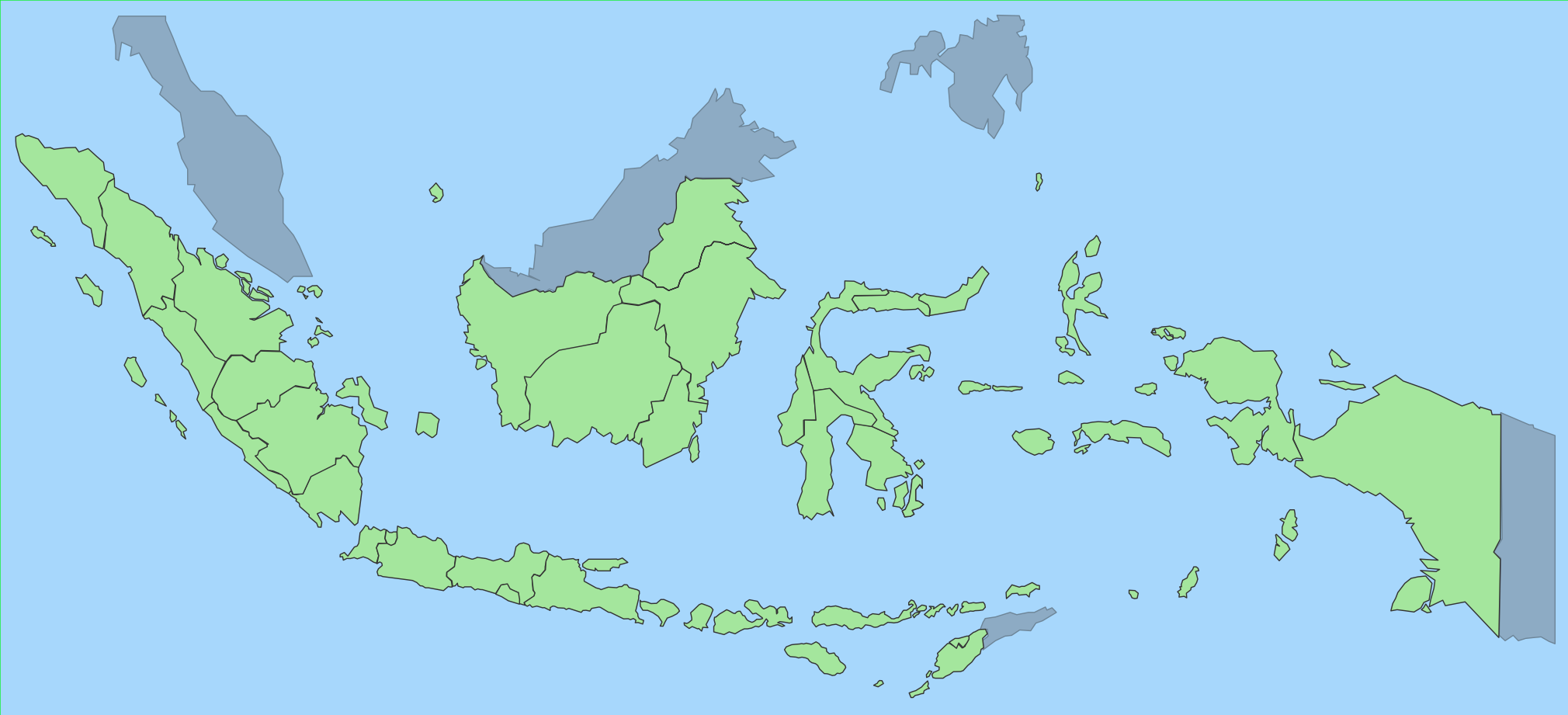 GitHub Junwatuindonesiamap SVG Map - Indonesia map