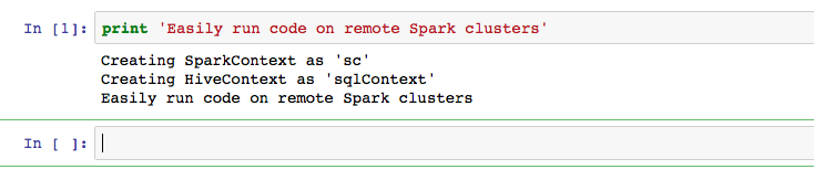 Automatic SparkContext and SQLContext creation