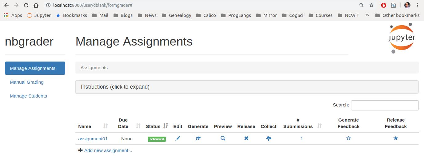 Manage Feedback UI