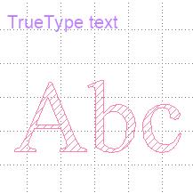 TrueType text