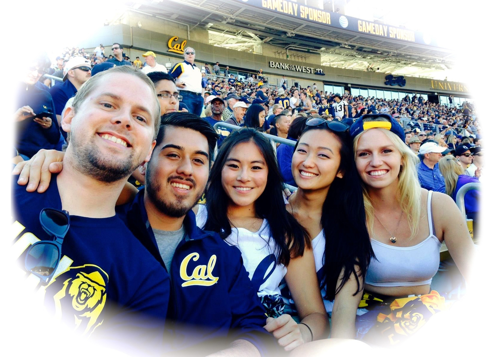 me and my friends at Cal