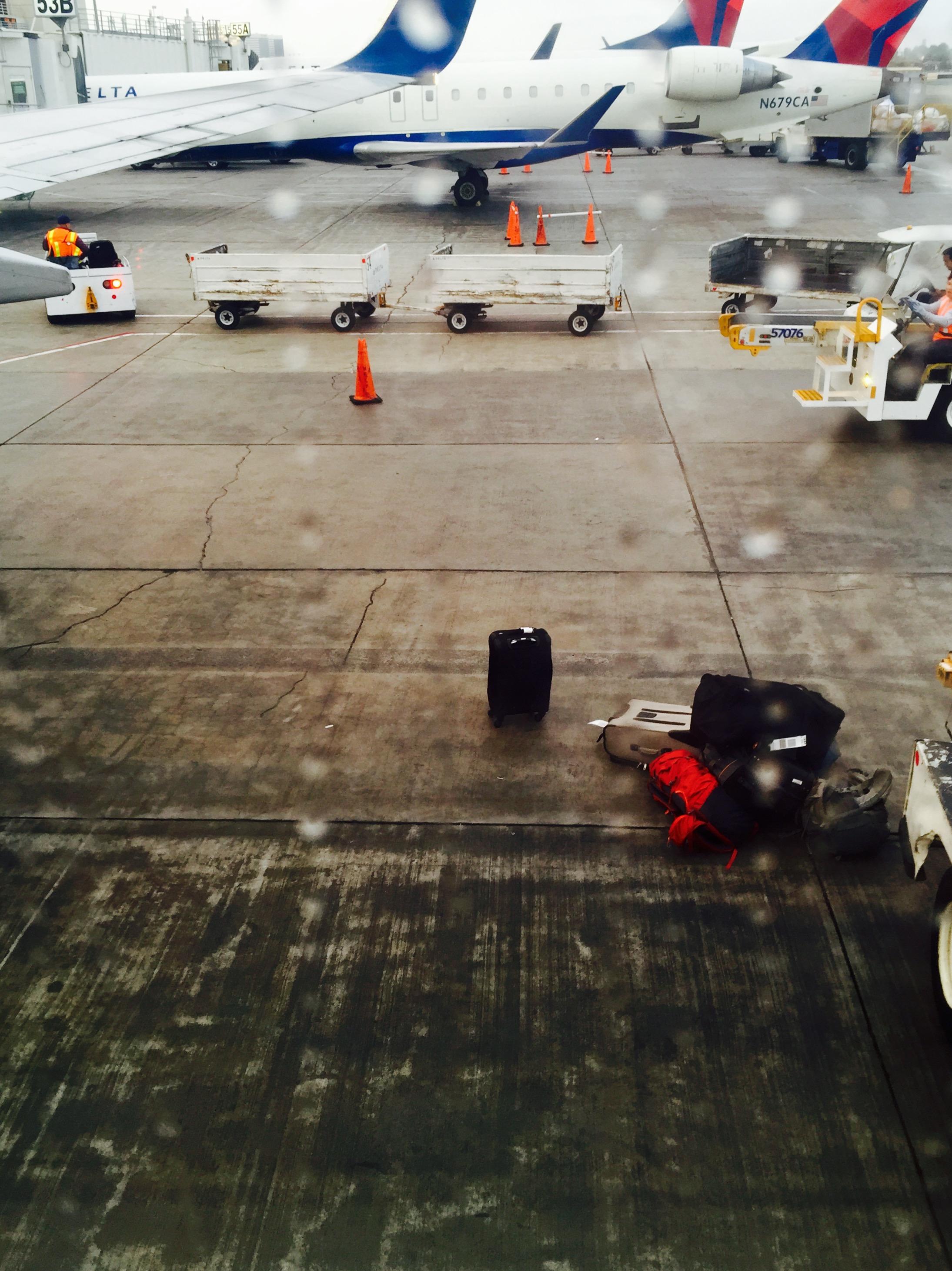 Bye bye my little suitcase