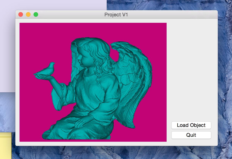 C++ 3D Viewer: First Update!