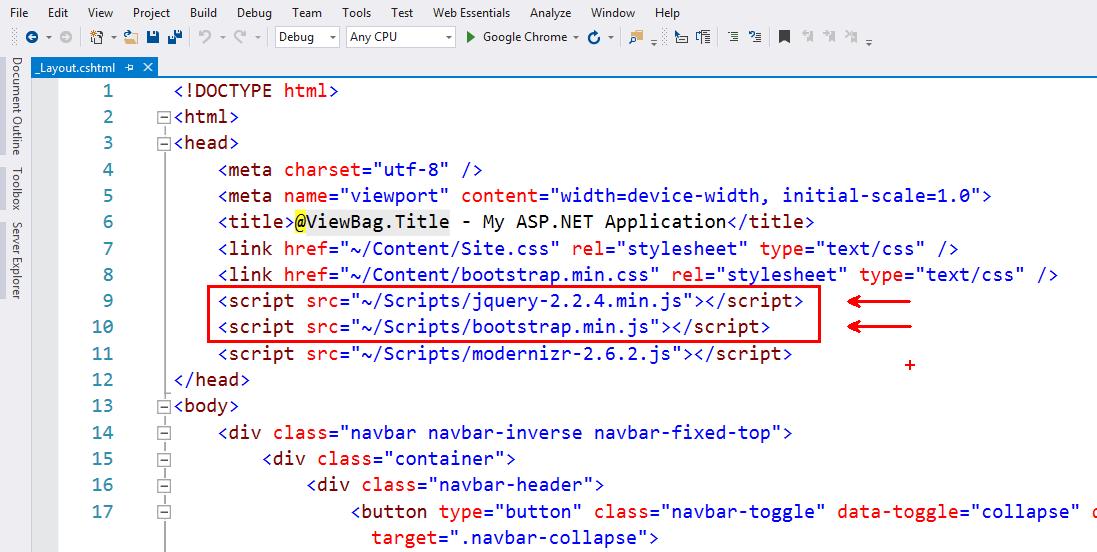 KMB Modal Login - Layout da Bootstap ve JQuery Ayarı
