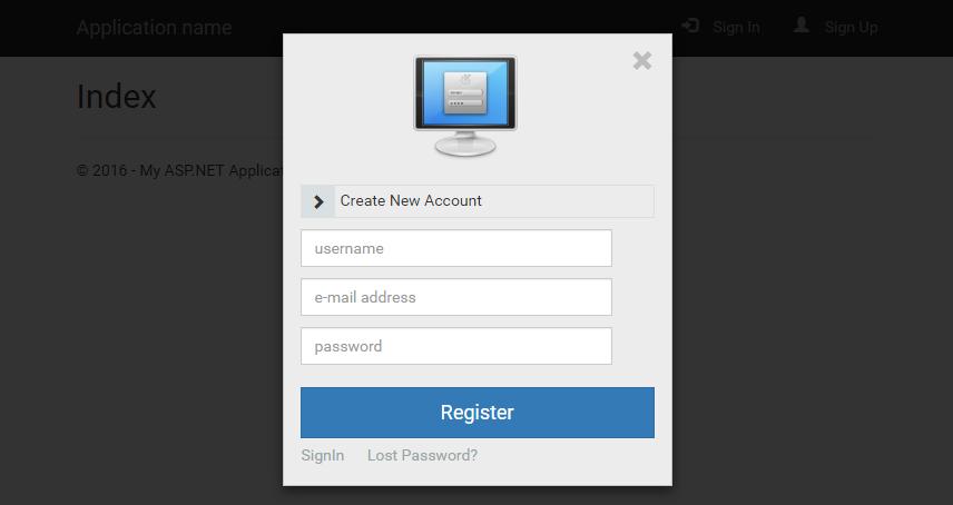 KMB Modal Login - Register(kayıt) Sayfası