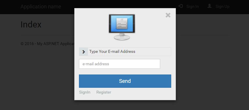 KMB Modal Login - Lost Password(Şifremi Unuttum) Sayfası