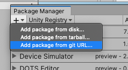 package-manager-add-from-git-url