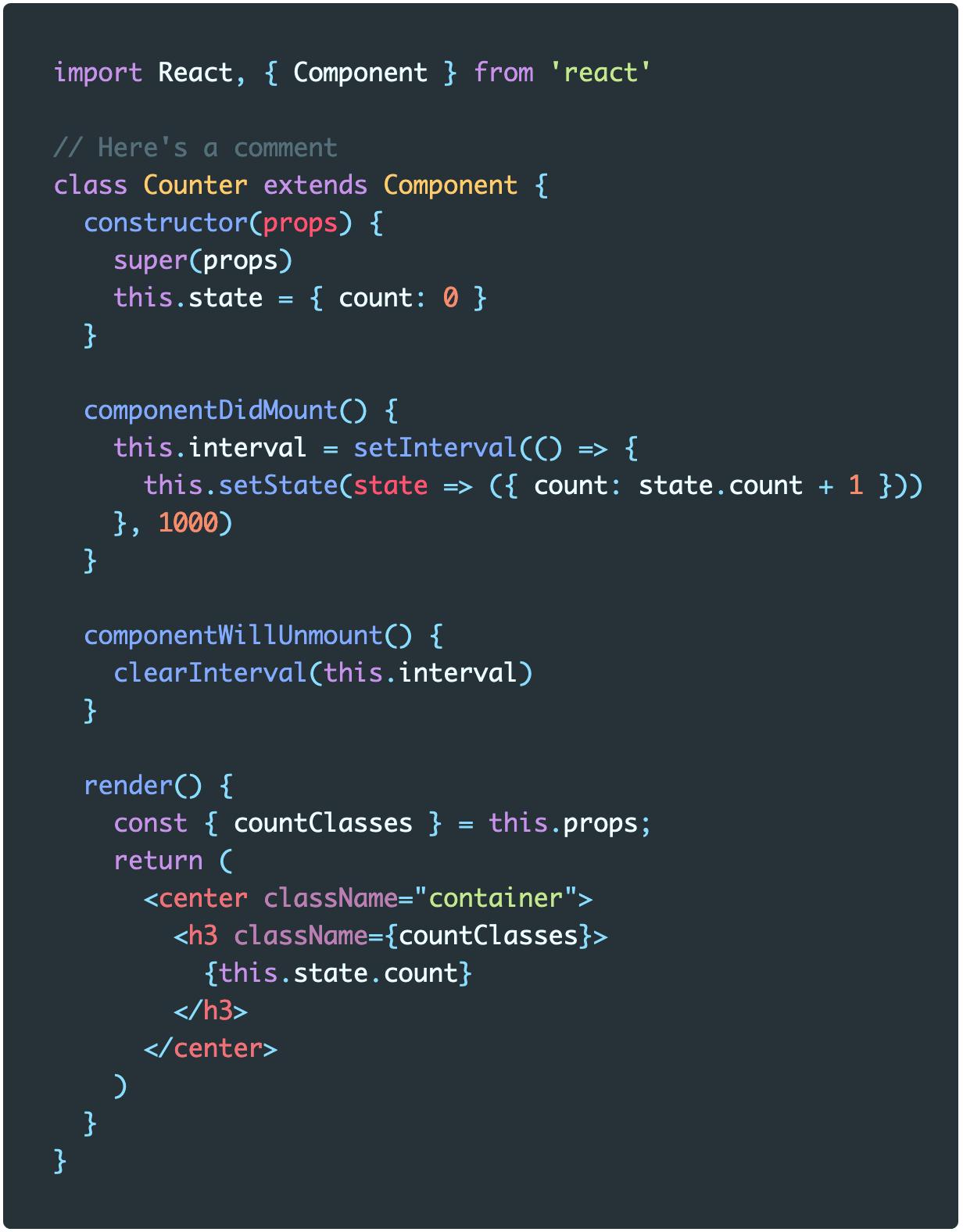 Screenshot of Material Default theme