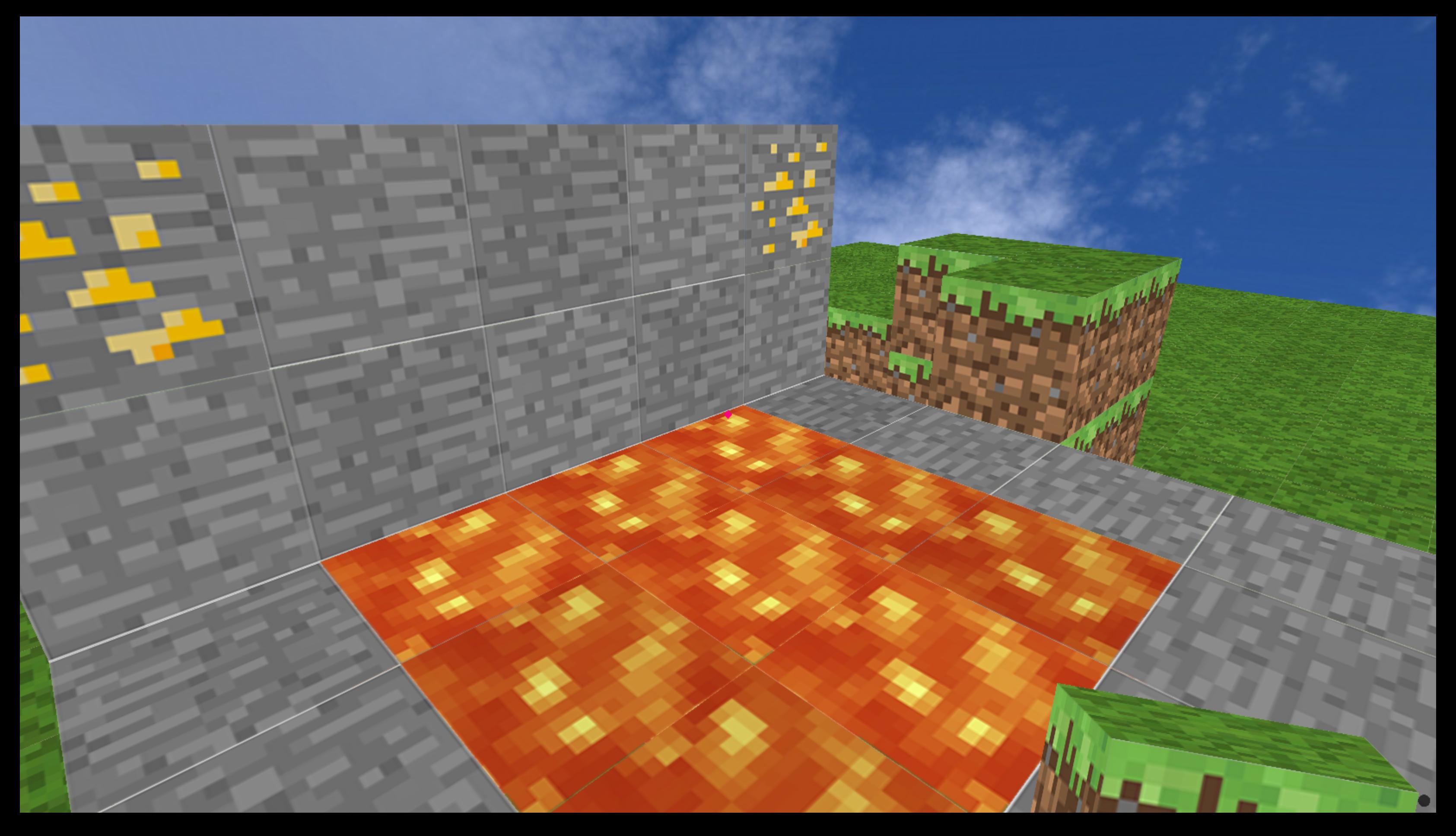 Minecraft clone using Python Ursina game engine!