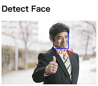 Detect faces