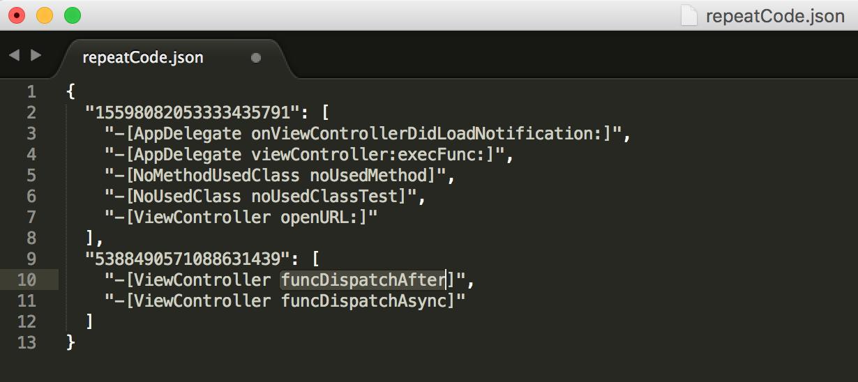 clang-find-duplicate-unused-code-repeatCode