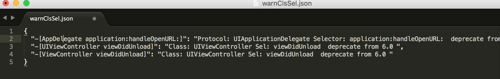 clang-validate-ios-api-warnClsSel