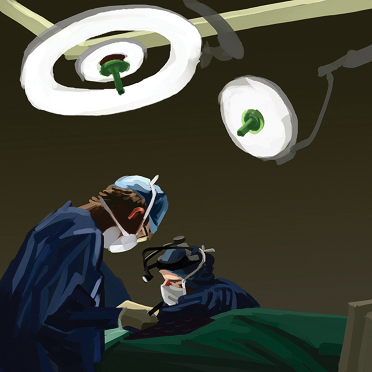 Illustrations for Ninewells Hospital