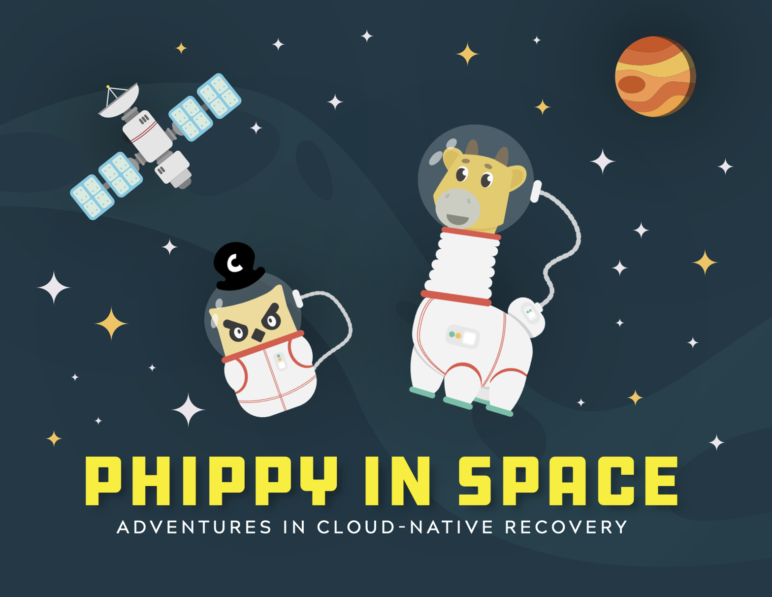 Phippy In space Cover