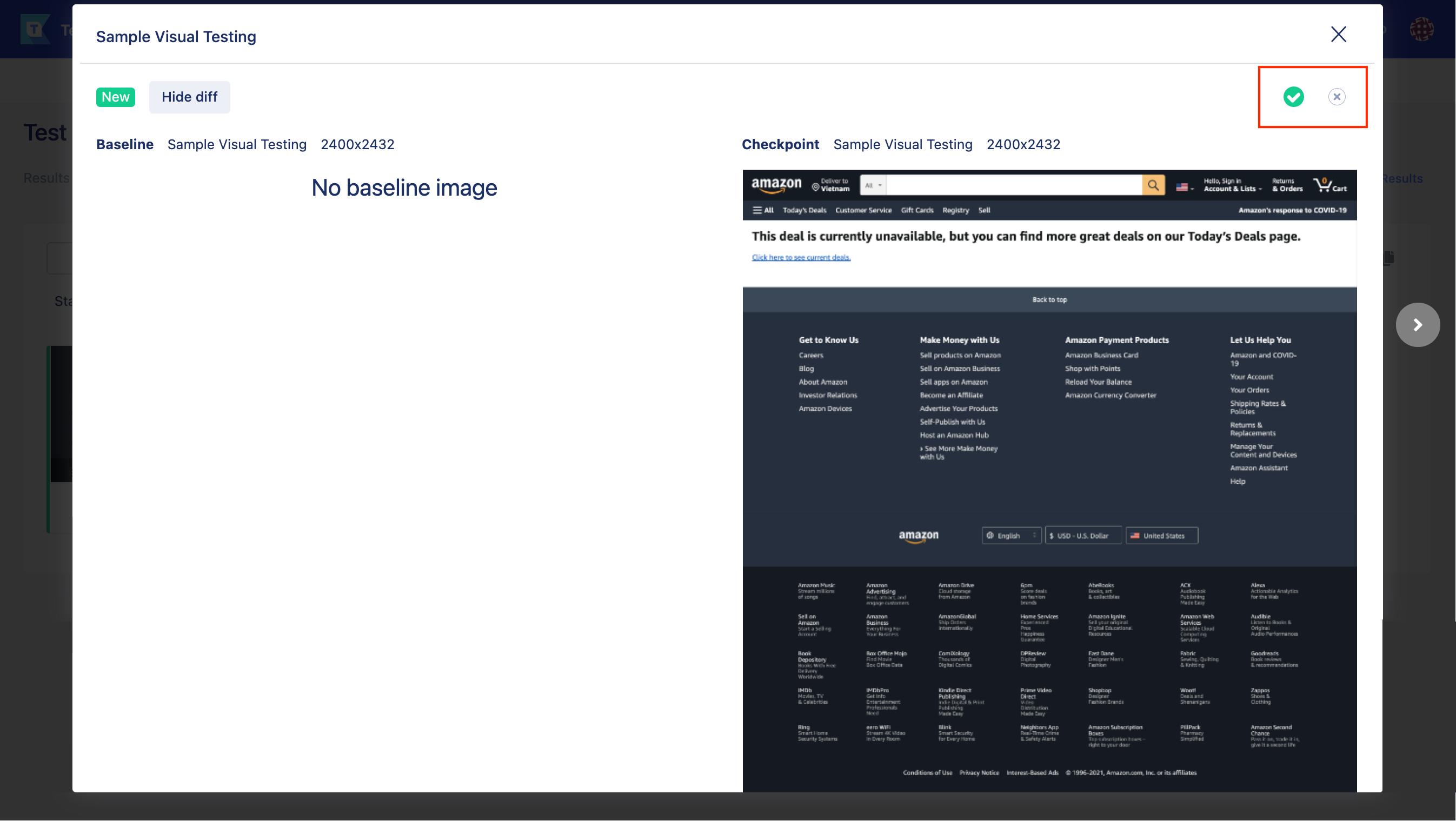 id1 sample visual testing image