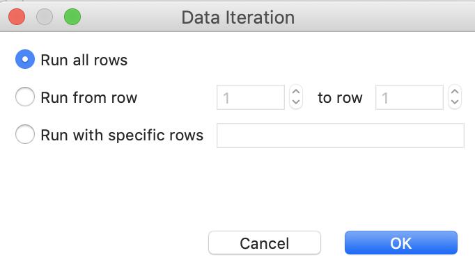 Data Iteration
