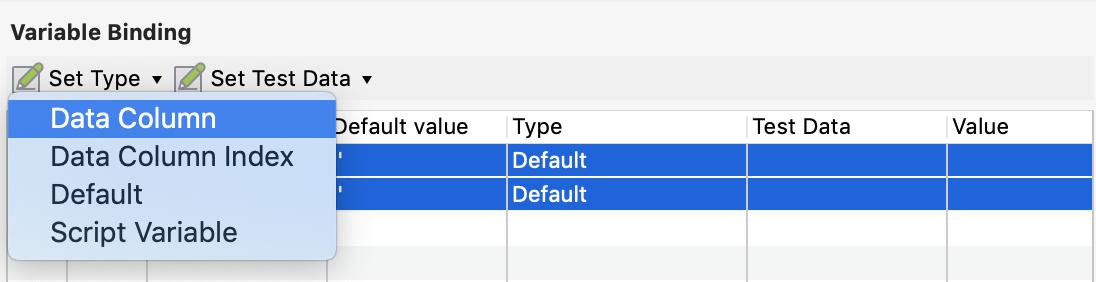 Set Data Type